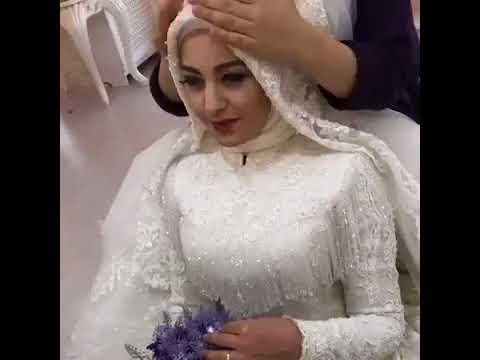اروع ربطة حجاب للعروس