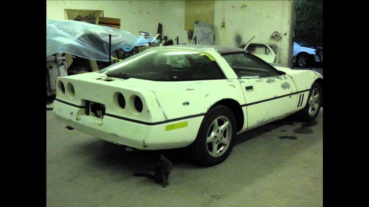 Front Street Auto Body 1985 Corvette Restoration Youtube