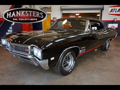 1968 Buick Gs400 Convertible For Sale 400ci Buick Big