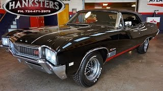 1968 Buick GS400 convertible for sale -  400ci Buick Big Block, Turbo 400 -Hanksters