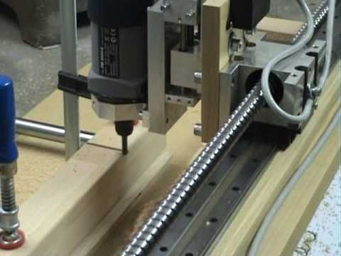 Precision Test Of My Homemade Cnc Router Youtube