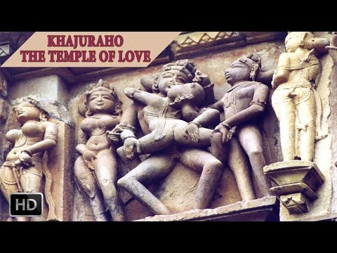 Khajuraho - Kandariya Temple - Famous  Sculptures and Architecture - Incredible India