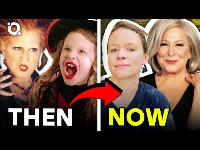 Hocus Pocus Cast\: Where Are They Now? |⭐ OSSA