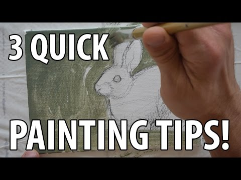 How to Paint a Picture: 3 Quick Painting Tips!