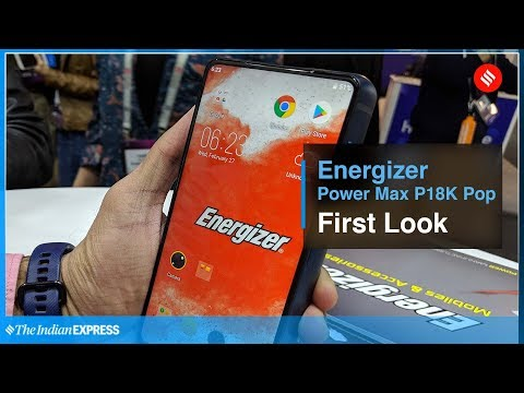 MWC 2019: Energizer Power Max P18K Pop First Look