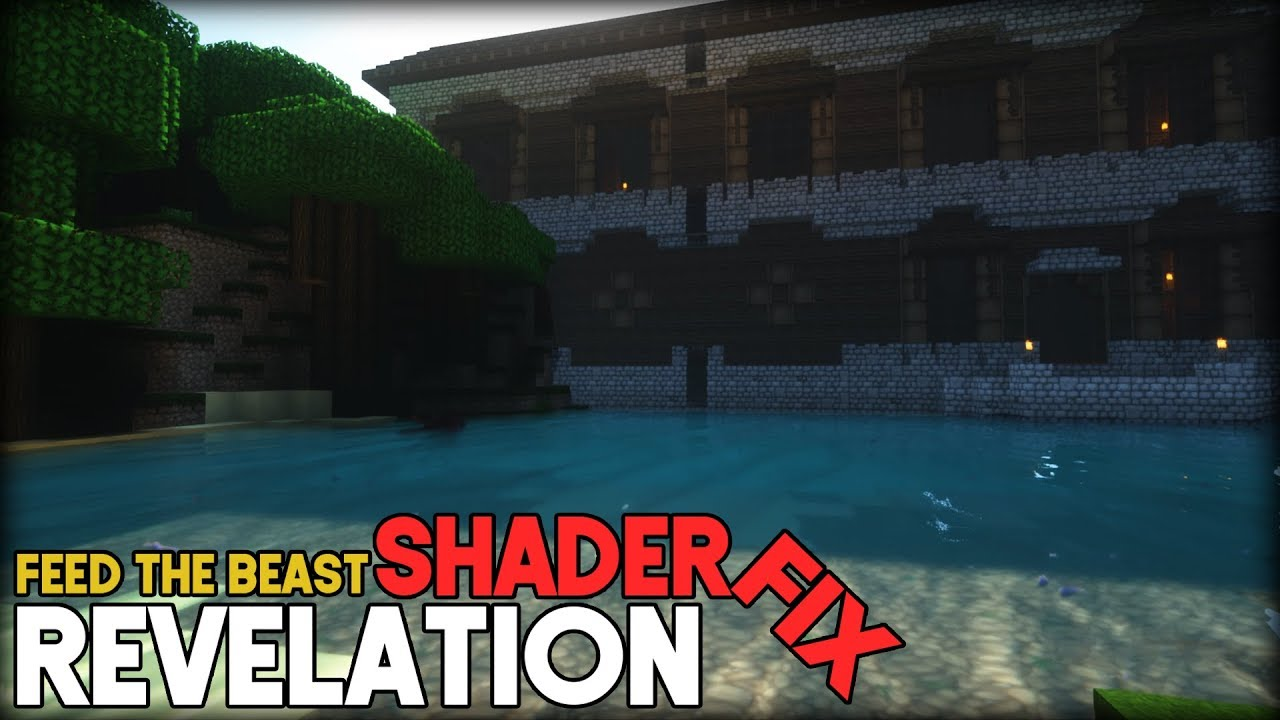 FTB revelation SHADER night sky fix | Minecraft tutorial