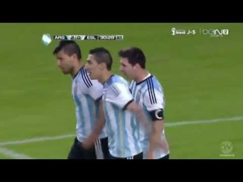 Lionel Messi GOL vs Slovenia (2:0) (6/7/14)| by IsaacFutbol4HD