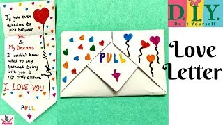 Download lagu DIY Pull Envelope Card How to make Card for Valentines day Boyfriend Girlfriend Love card Origami MP3
