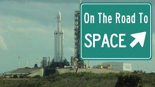 On The Road to Space #2 - Le test de la Falcon Heavy