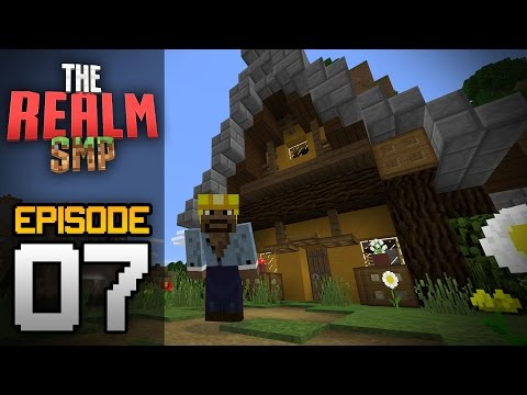 Realms Multiplayer Survival Ep. 7 - MY FIRST STORE! BOOKSTORE BUILD! - Minecraft PE (Pocket Edition)