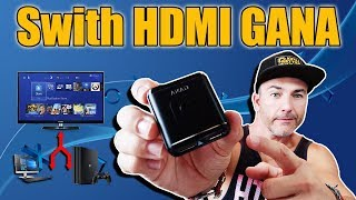 Swith HDMI GANA - me salvara el MONITOR!! LEER DESCRIPCION