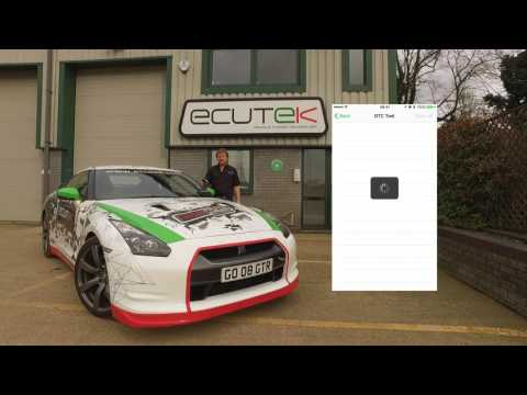 EcuTek ECU Connect and Bluetooth Vehicle Interface for the Nissan GTR - Standard Features
