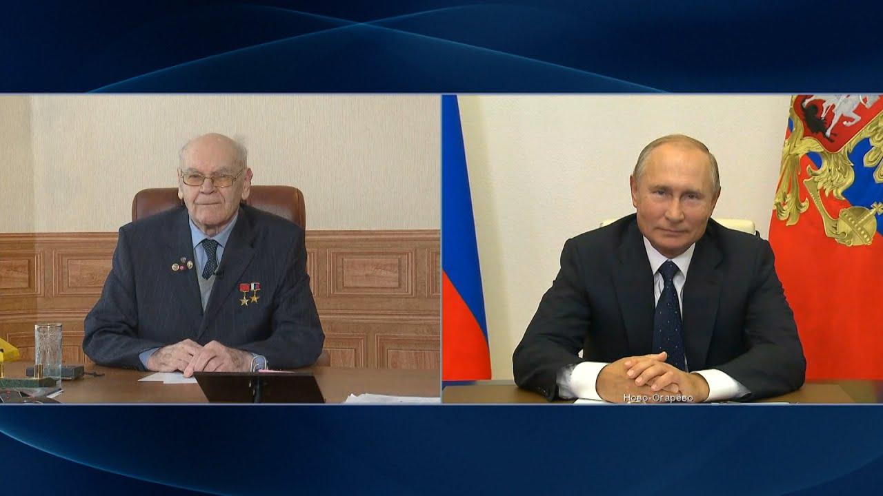 Путин наградил орденом создателя «Авангарда»