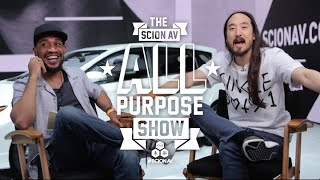 Steve Aoki, Shonduras, Mamrie Hart, Just Kidding News at LA Autoshow || All Purpose Show