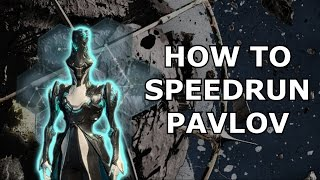 Warframe - How To Speedrun Pavlov (Lua) With Limbo