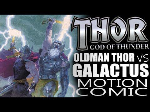 Thor: God of Thunder vs  Galactus Comic Dub