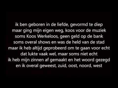 Treur niet (ode aan het leven) - Diggy Dex ft. JW Roy (LYRICS VIDEO)