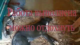 #Ладахутор#курятник#огород#стройка#Заливка полов в курятнике