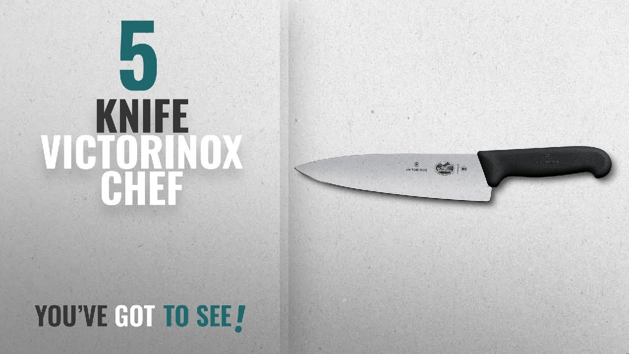 top 10 knife victorinox chef 2018 victorinox fibrox pro chef 39 s knife 8 inch chef 39 s ffp youtube. Black Bedroom Furniture Sets. Home Design Ideas