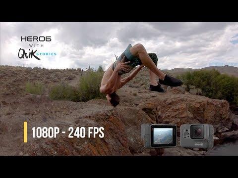 GoPro HERO6 - Slow Mo Footage [240fps]