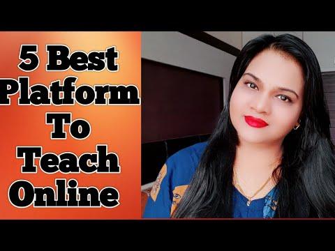 5 Best Platforms to Teach online & Earn money || Online Teaching Platforms In India ||2020Tutor Jobs