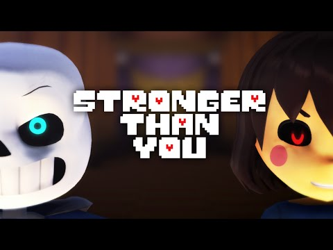 MMD Undertale ❤ Stronger Than You