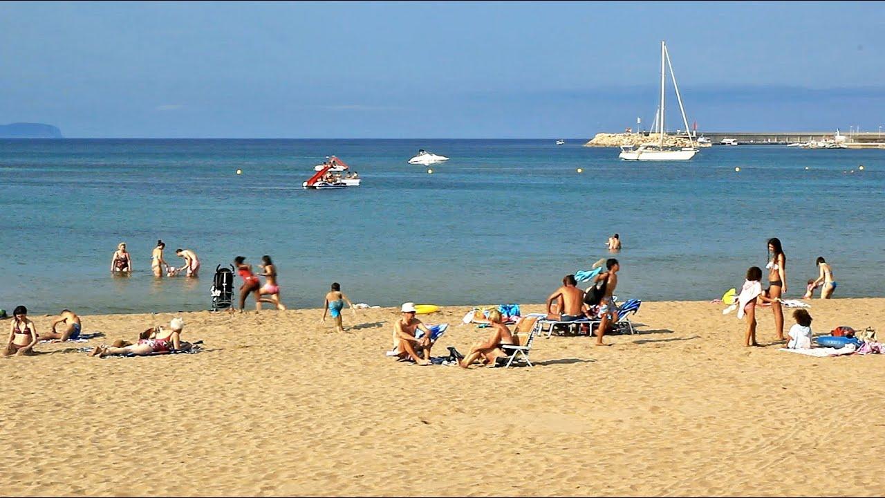 Girona Beaches Costa Brava Playas De La Escala Tourism Travel Beach Spain Holiday L