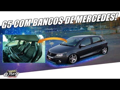 VLOG7008 - ELE ADAPTOU BANCOS DA MERCEDES NO GOL G5 GASTANDO 4 MIL REAIS!