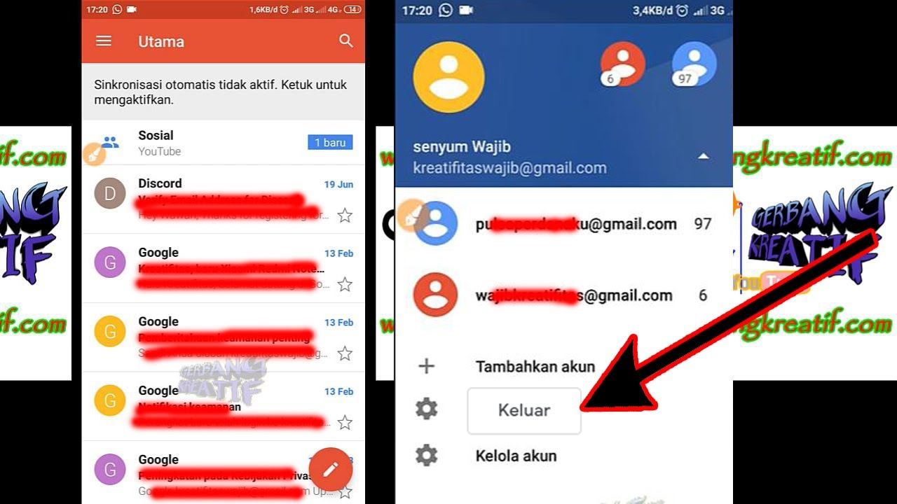 Cara Menghapus Akun Gmail Di Hp Evercoss - Edukasi.Lif.co.id