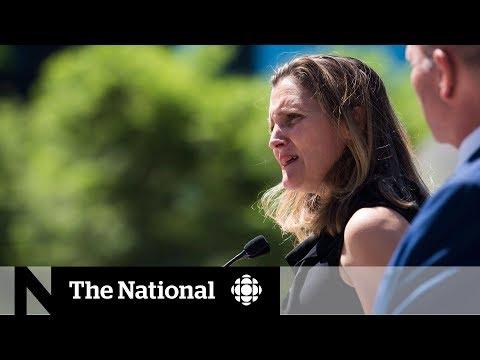 Chrystia Freeland: Saudi Arabia\'s sanctions don\'t change Canada\'s position
