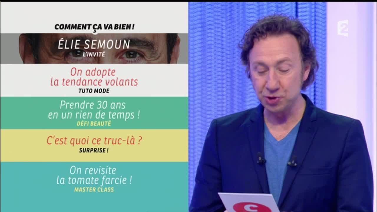 Intégrale Comment ça Va Bien 17 05 2016 P1 Elie Semoun Ccvb Youtube