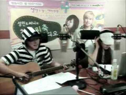 080610 - Chunji - Singing Lee MunSe's ''A farewell story''