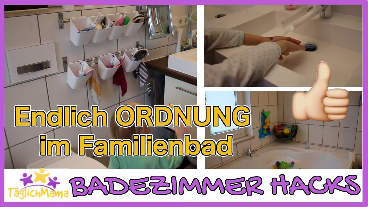 16 badezimmer hacks für eltern - ordnung im familienbad / mom, Badezimmer ideen