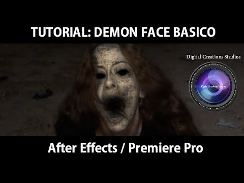Demon face after effects youtube.