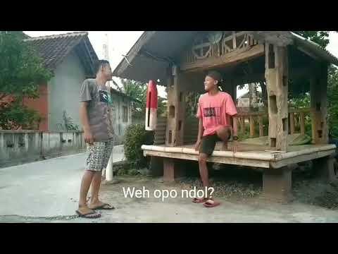 Plesetan lagu dangdut viral