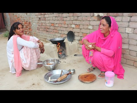 Punjabi Village Food♥️ Village Life of Punjab India ♥️ Indian Rural life of Punjab