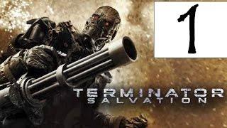 Terminator Salvation прохождение игры - Глава 1 Лос Анджелес 2016, Глава 2 Слава небесам.