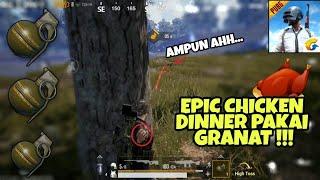 Cara Chicken Dinner Pakai GRANAT di PUBG Mobile Quantum !