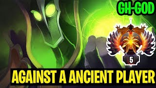 Ancient Player Against Top 5 World - Gh-God Rubick - Dota 2