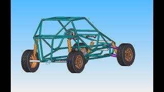Planos para fabricar un kart cross