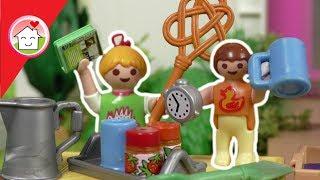 Playmobil Film deutsch - Flohmarkt mit Anna und Lena Hauser -  Kinderfilm von Familie Hauser