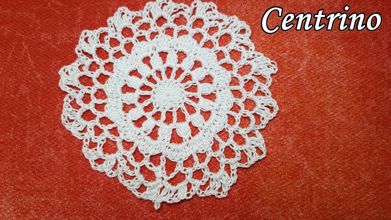 Centrino Facilissimo Alluncinetto Crochet Tutorial Easy