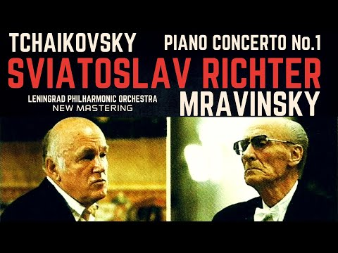 Tchaikovsky - Piano Concerto No.1 (recording of the Century : Sviatoslav Richter/Mravinsky)