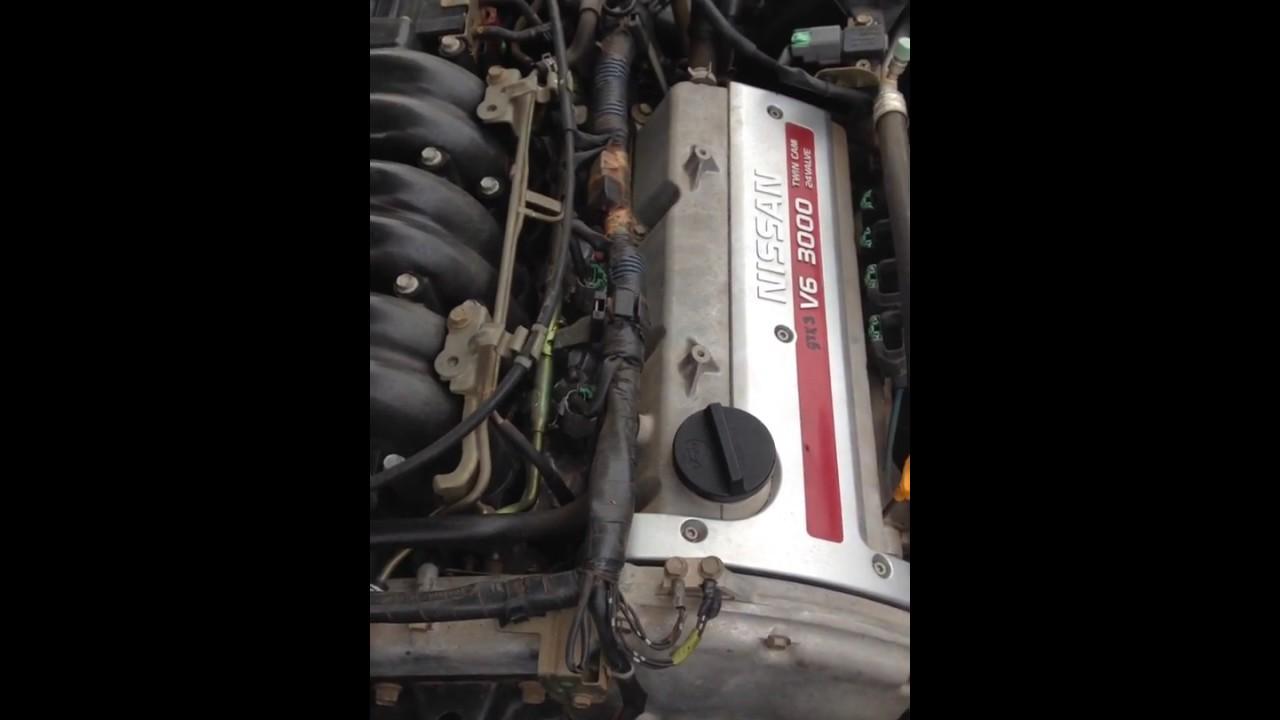 Nissan maxima knocking rattling noise vq30de
