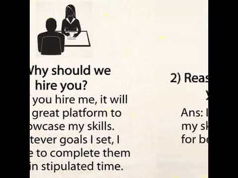 What to say during job interviews - \