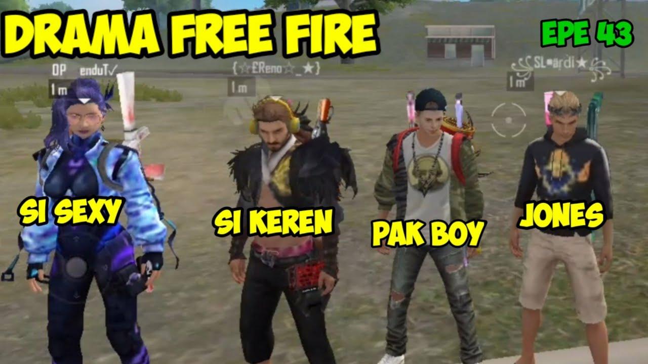 DRAMA FF BUCIN,FILM PENDEK FF, FREE FIRE STORY   EPISODE 43