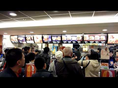 McDonalds is nicer in Hong Kong
