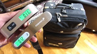 Portable Luggage Scales | Review of 2 Popular Brands