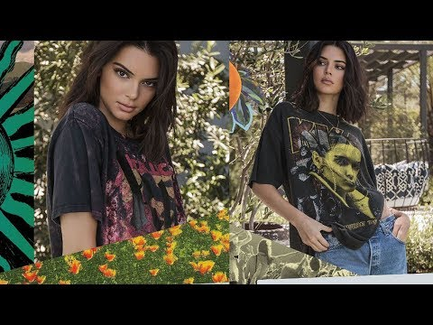 Kendall & Kylie Jenner UNDER FIRE For Vintage Tee Collection Mp3