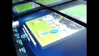 futebol equipa b teve aula de histria no museu 05 08 15